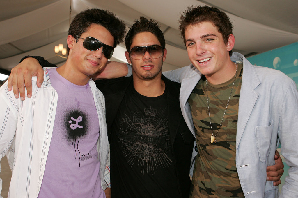 Stephen Colletti and Talan Torriero met up with a pal on the 2005 MTV Video Music Awards carpet.