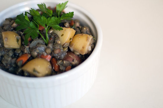 Lentil and Potato Salad