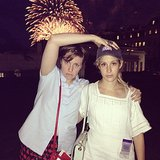 Lena Dunham wasn't shy about sharing a fireworks photo. Source: Instagram user lenadunham