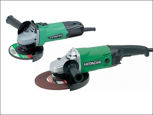 Angle Grinder Twin Pack 115mm + 230mm 110 Volt | Power Tools 2 Buy