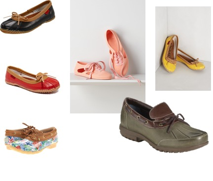 Anthropologie, Chooka, Sperry, Cole Haan