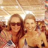 Lori Laughlin celebrated the American holiday even while vacationing in France. Source: Instagram user loriloughlin