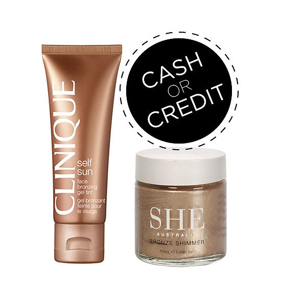 Cash or Credit: Bronzing Face Gel (to Warm You Up!) On Every Budget