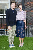 Henry Holland and Pixie Geldof joined forces in prints at the launch event for Fashion Rules at London's Kensington Palace.