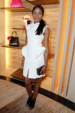 Naomie Harris was white hot at the Fendi Avenue Montaigne store opening. Source: