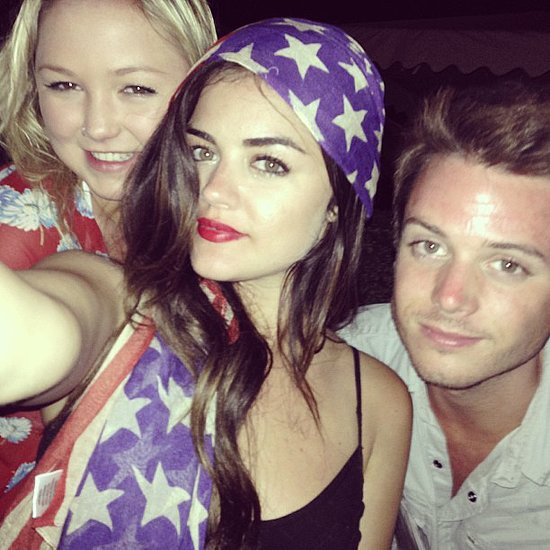 Celebrities Celebrate The 4th of July