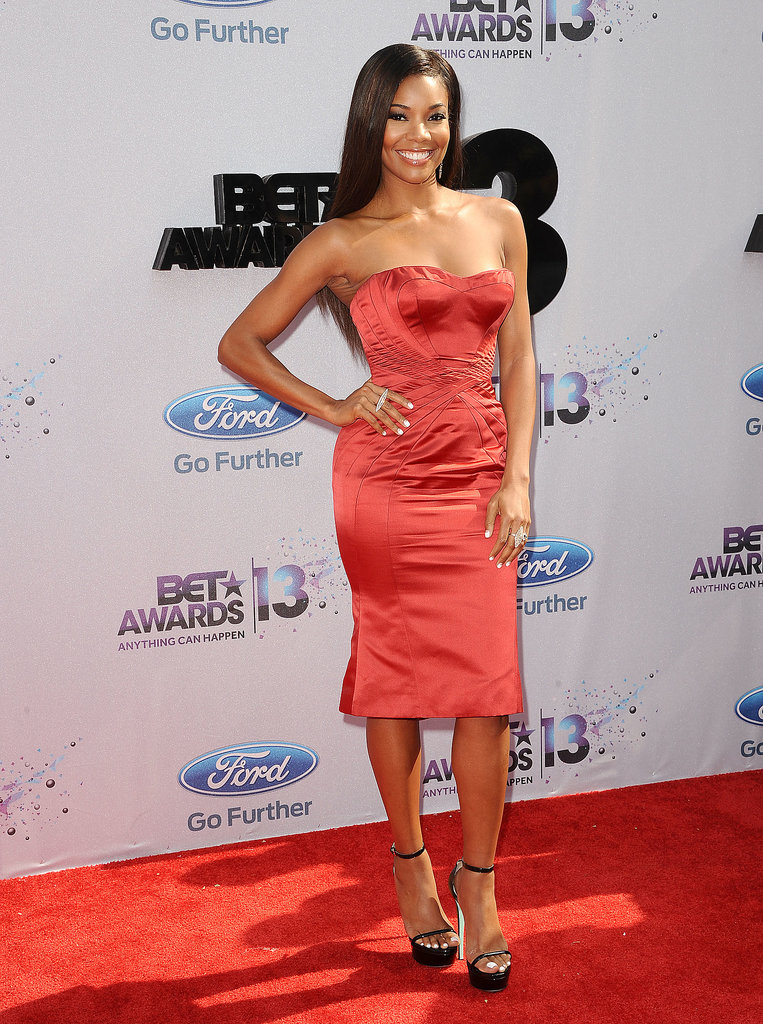 We loved Gabrielle Union's sexy red number at the BET Awards so much that we nominated it as one of our favorites.