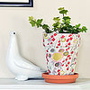 DIY Fabric-Covered Pots