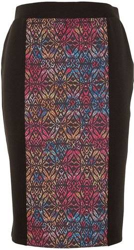 Awear Aztec high waisted skirt