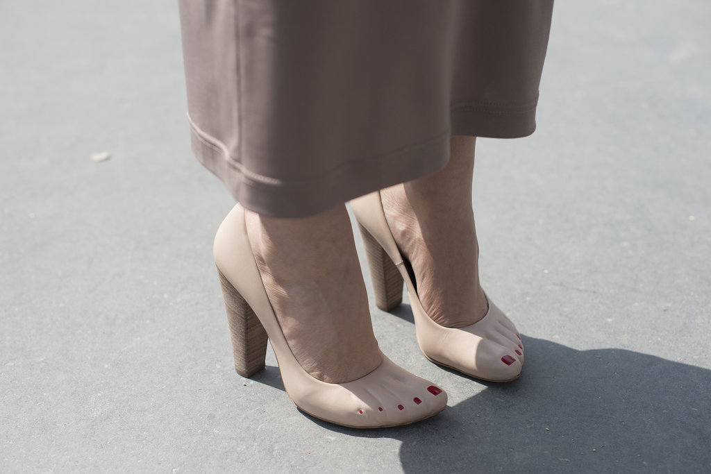 It's not hard to see why these Celine pumps turned heads.