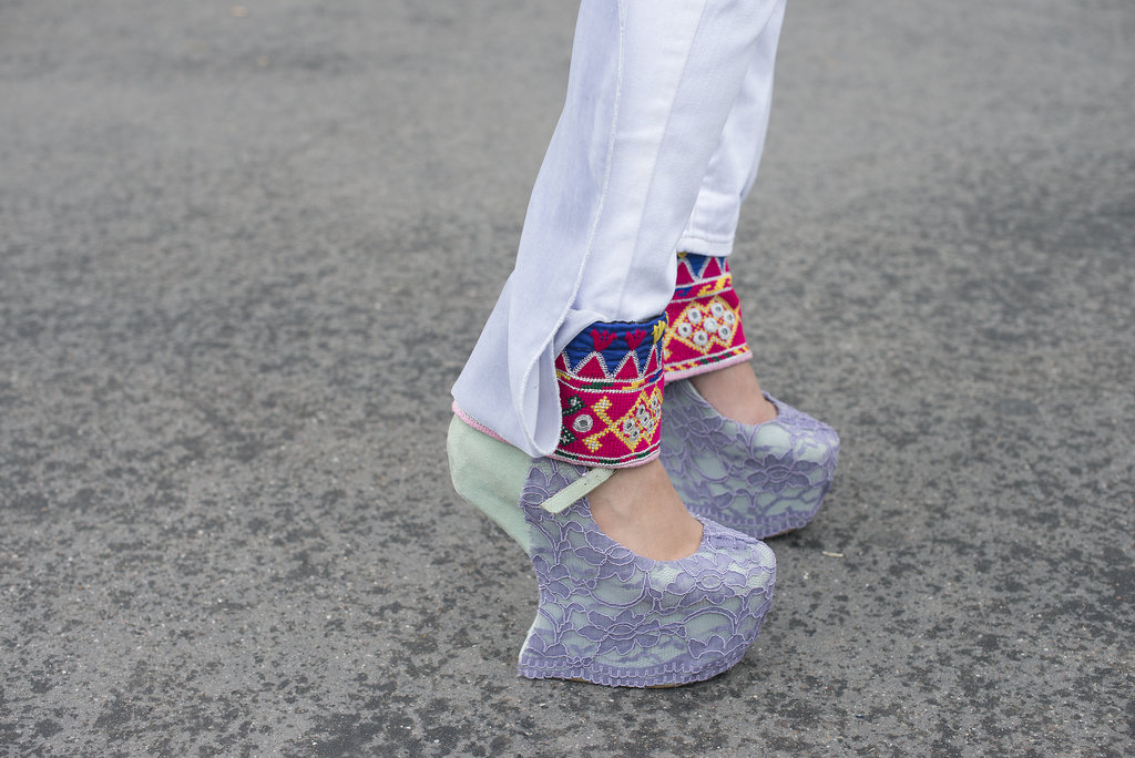 These platforms were made for turning heads.