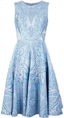 Temperley London jacquard dress