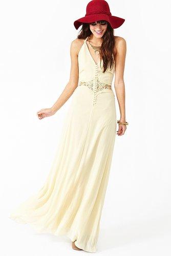 Siobhan Maxi Dress - Cream