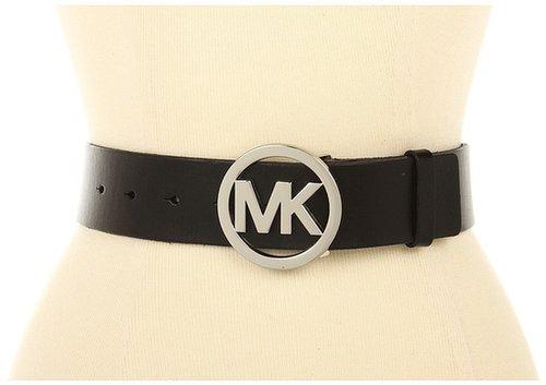 MICHAEL Michael Kors - Michael Kors 42Mm W/Mk Logo Plaque (Black) - Apparel