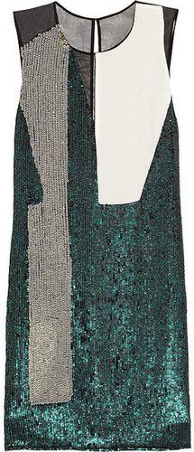 3.1 Phillip Lim Sequined silk dress