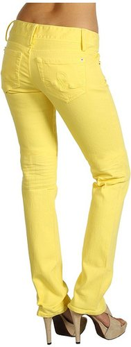 Lilly Pulitzer - Worth Straight Jean (Pineapple) - Apparel