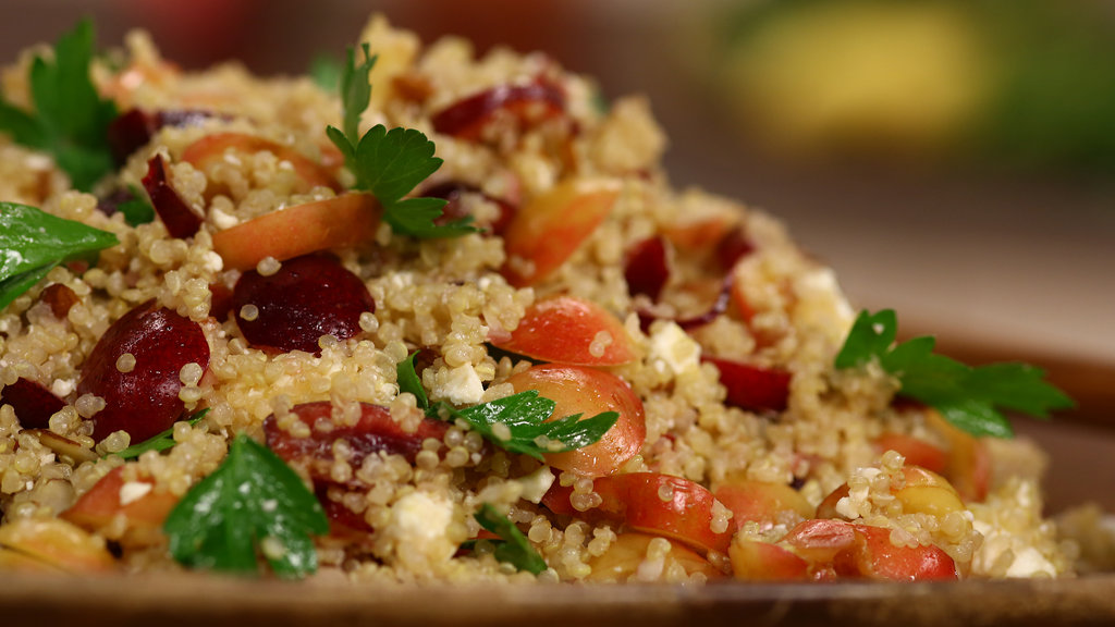 Fresh Quinoa Cherry Salad