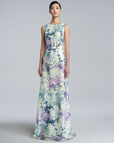 Erdem Jane Long Floral-Print Dress