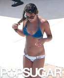 Bikini-clad Lea Michele soaked in the sun in Cabo.