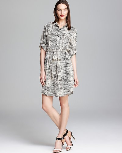 Calvin Klein Printed Shirt Dress