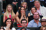 Pippa Middleton got excited in the stands on July 5.