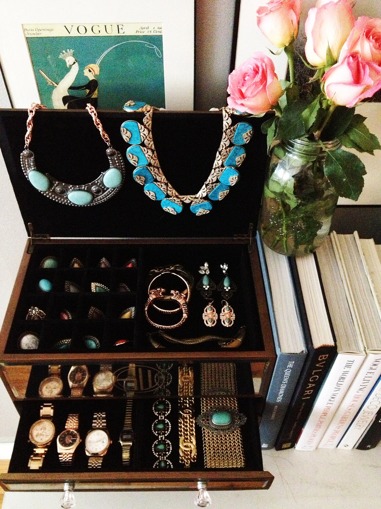 I love to display my jewellery in the SAMANTHA WILLS jewellery chest — accessorising is so much more fun (and easy) when everything is organised.