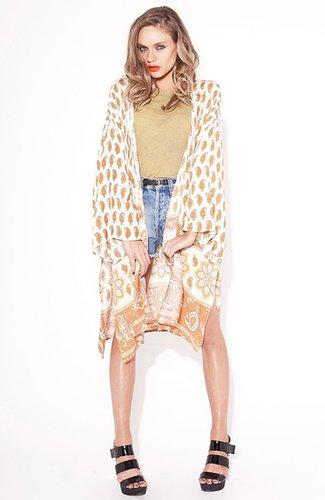 MINKPINK 'New Dawn' Kimono Cape