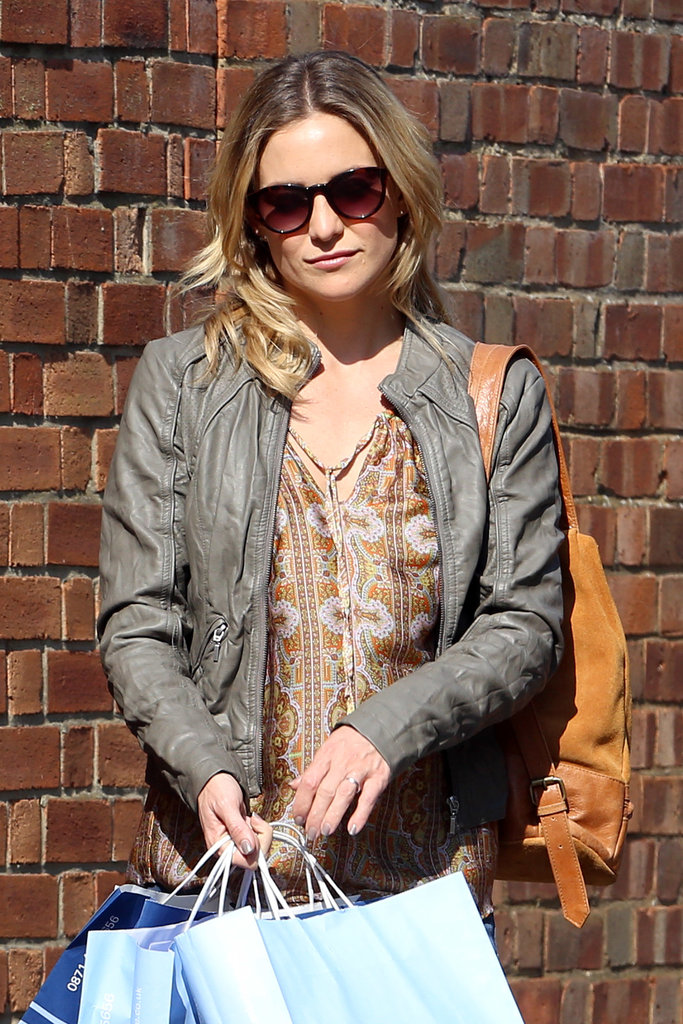 Kate Hudson shot a scene for Good People in London on Tuesday.