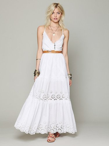 Ophelia Eyelet Maxi Dress