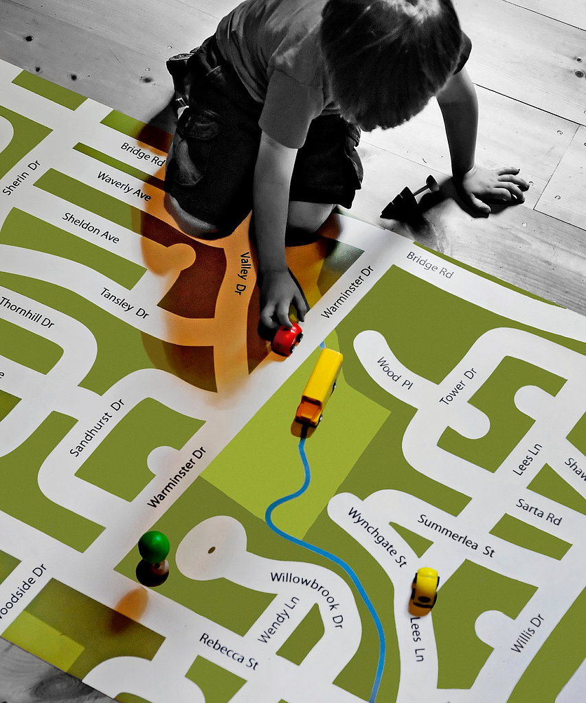 Board Stiff's Neighborhood Custom Play Mat
