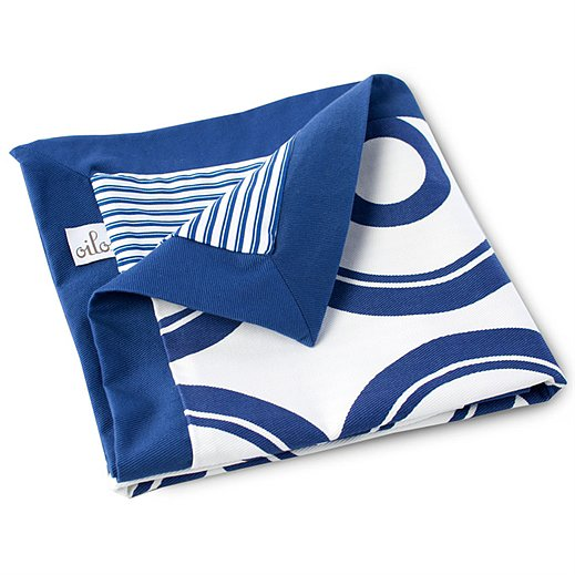 Oilo Play Blanket in Cobalt Blue