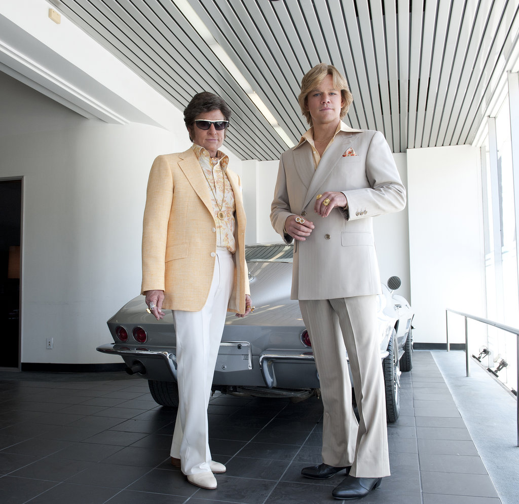 Behind the Candelabra 15 nominations total, including:  Outstanding miniseries or movie Outstanding lead actor in a miniseries or a movie, Michael Douglas Outstanding lead actor in a miniseries or a movie, Matt Damon Outstanding supporting actor in a miniseries or a movie, Scott Bakula Outstanding writing for a miniseries, movie, or a dramatic special Outstanding directing for a miniseries, movie, or a dramatic special Outstanding costumes for a miniseries, movie, or a dramatic special