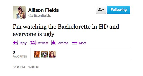 On The Bachelorette