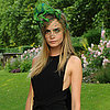 Cara Delevingne's Unique Headpieces From All Angles