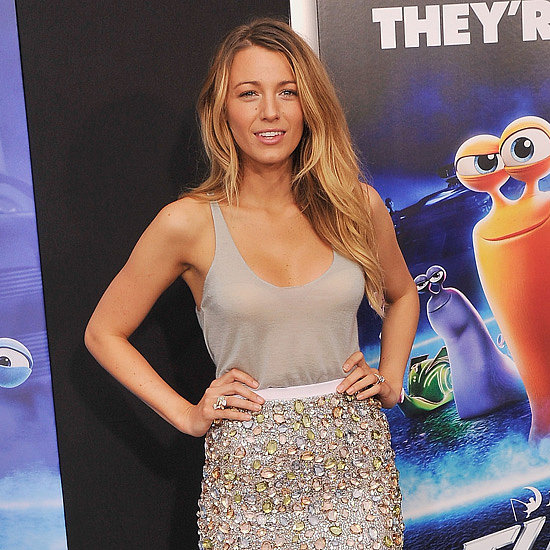 Blake Lively and Ryan Reynolds at Turbo NYC Premiere