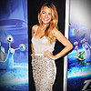 Blake Lively Wears Sexy Sequinned Burberry to Turbo Premiere