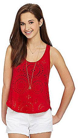 Jessica Simpson Jeanswear Leigh Tank Top