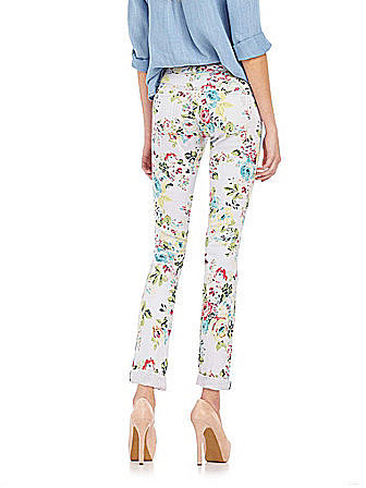 Jessica Simpson Jeanswear Forever Printed Cropped Pants