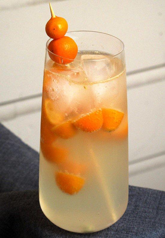 Kumquat Fizz