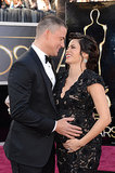 Channing and a pregnant Jenna looked loved up on the red carpet at the Oscars in February.