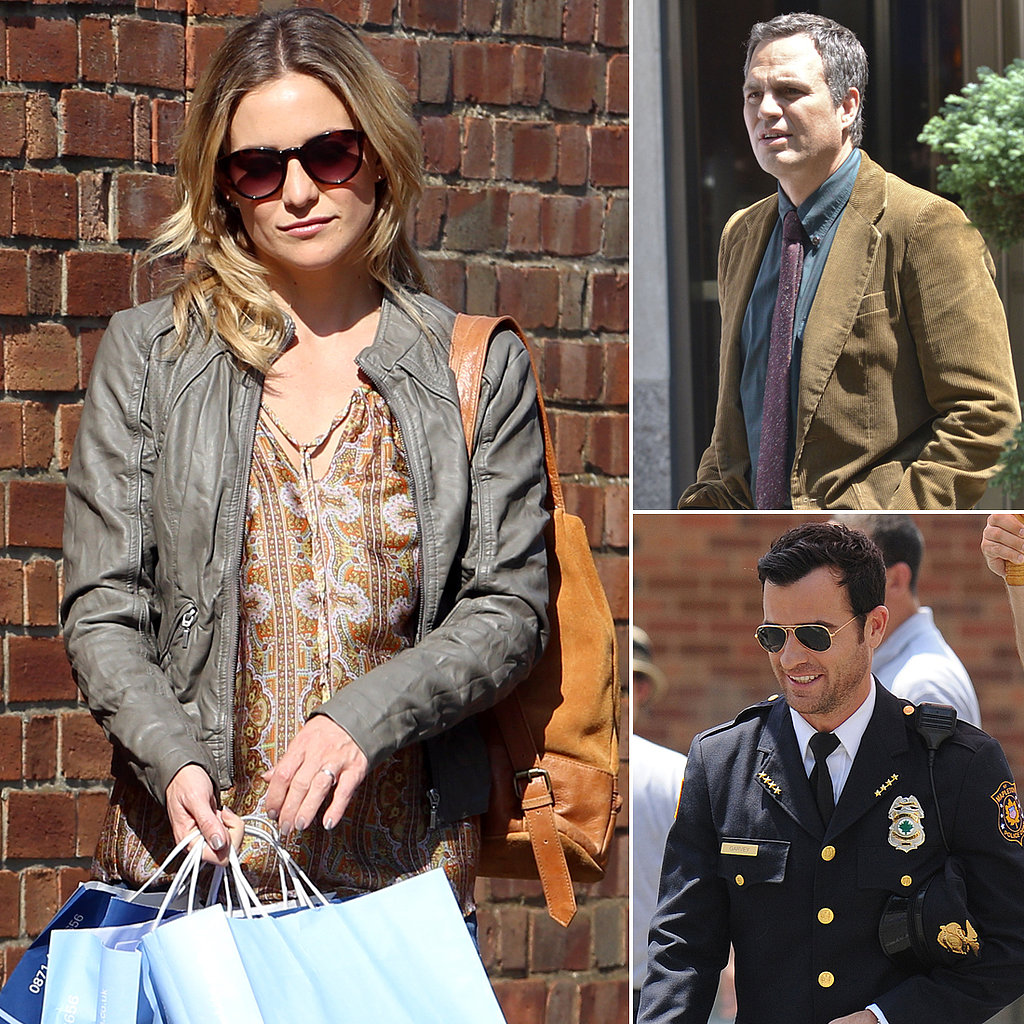 Kate Hudson, Mark Ruffalo, Justin Theroux, and More Stars on Set