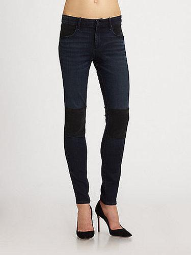 Marc by Marc Jacobs Tiia Paneled Skinnny Jeans