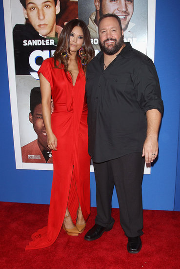 Kevin James walked the red carpet with Steffiana De La Cruz.