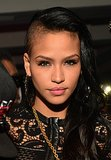 Cassie Ventura may have a sweet facade, but her look is pure punk with both sides of her hair shorn short.