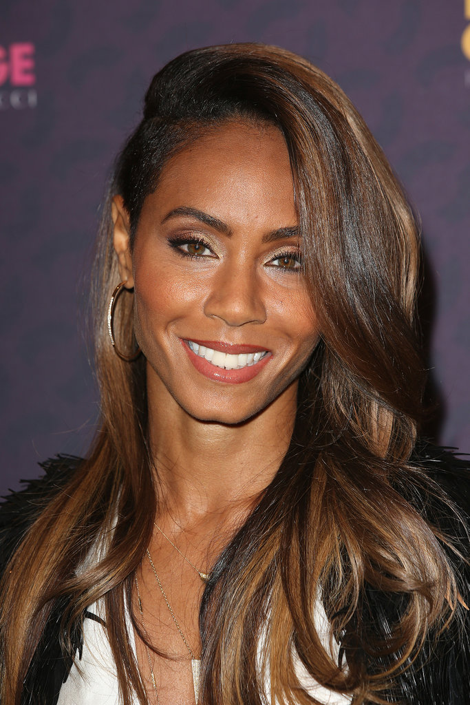 Jada Pinkett Smith shaved off her sides for a look that is still surprisingly sophisticated.