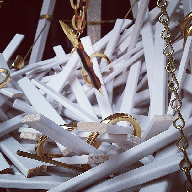If we weren't excited enough about the Maiyet SoHo store opening, this shot of its jewelry display did the trick. Source: Instagram user maiyet
