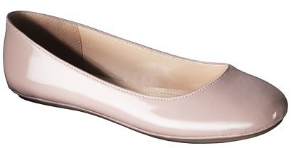 Women's Mossimo Supply Co. Odell Patent Ballet Flat - Blush