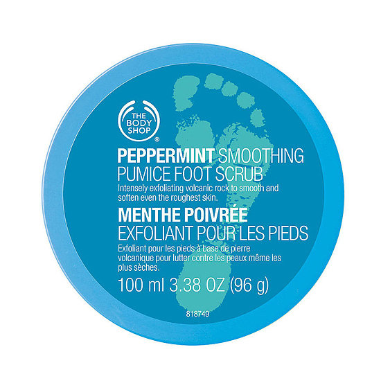 The Body Shop's Peppermint Cooling Foot Scrub