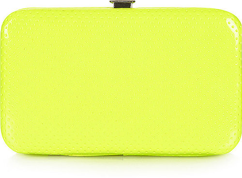 Neon Perforated Phone Purse