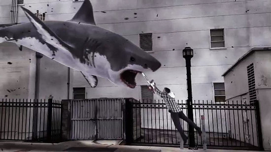 Video: Sharknado Attacks! Celebrities React